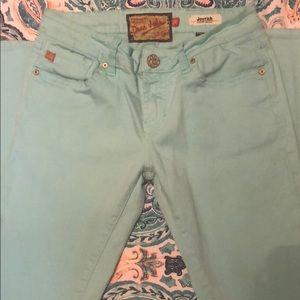Size 26, Dear John skinny jeans.